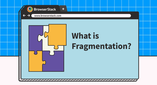 Infographic: Fragmentation in OS, browsers, and devices