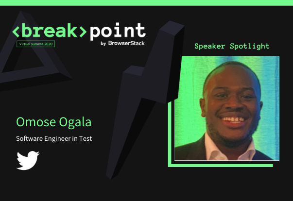 Breakpoint Speaker Spotlight: Omose Ogala