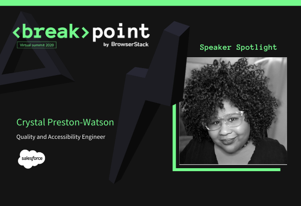 Breakpoint Speaker Spotlight: Crystal Preston-Watson, Salesforce
