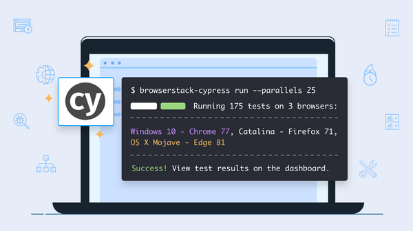 Cypress cross browser testing on the cloud