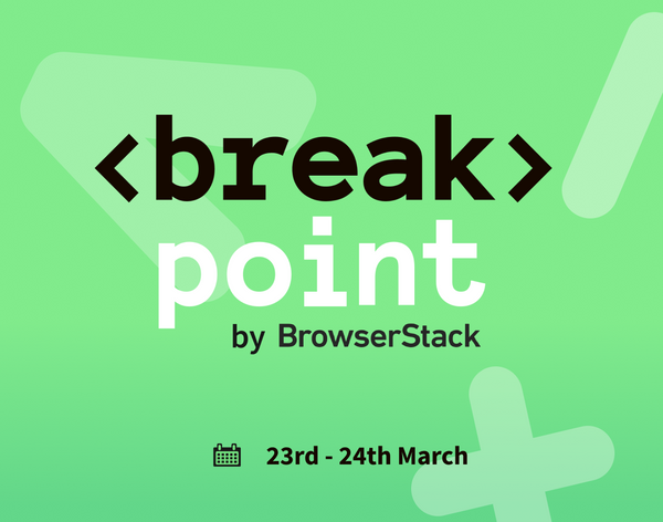 Announcing Breakpoint 2021