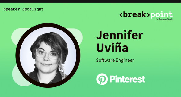 Breakpoint 2021 Speaker Spotlight: Jennifer Uviña, Pinterest