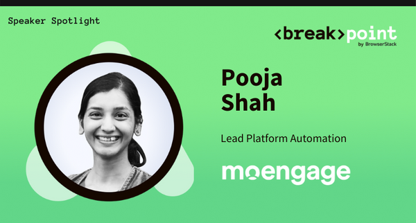 Breakpoint 2021 Speaker Spotlight: Pooja Shah, MoEngage Inc.