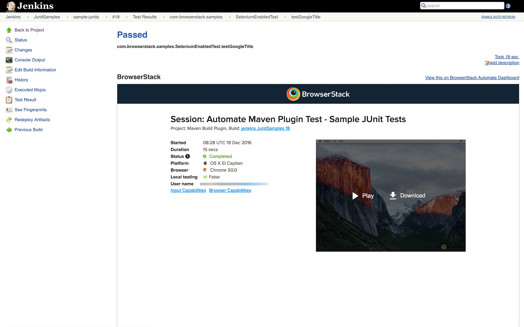 Integrate your Appium tests for native and hybrid mobile